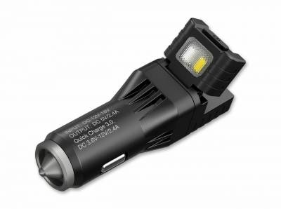 Nitecore 09JB989 VCL10 All-in-One Charger Multifunktions-USB-Ladegerät 12V KFZ