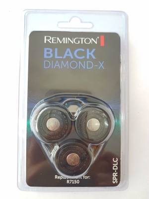 REMINGTON SPR-DLC Scherkopf R7150 Black Diamond X Rotationsrasierer