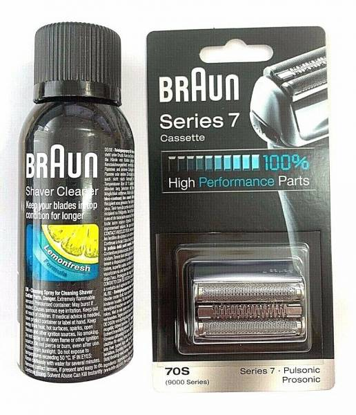 790CC 9595 9585 Shaver Replacement CASSETTE NEW BRAUN 70S PULSONIC 9000 SERIES
